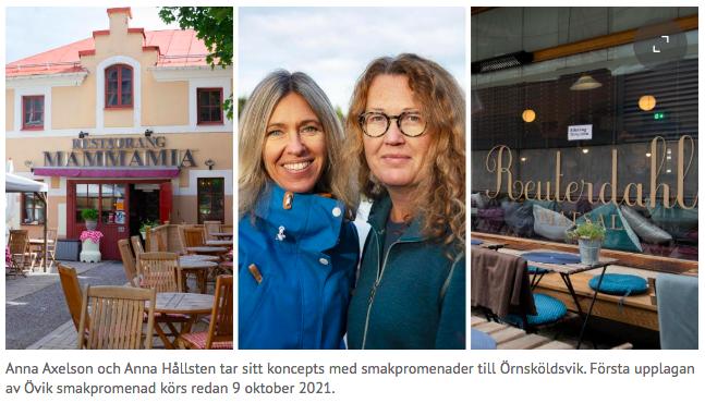 Nu gör vi smakpromenader även i Övik